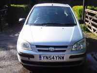 Hyundai Getz 1.1 GSI 2004 great first car on run around cheap to tax and insure