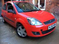 BARGAIN FORD FIESTA ZETEC CLIMATE RED