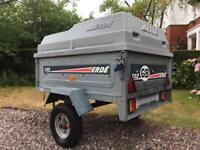 Erde 122 Trailer with ABS Lockable Cover