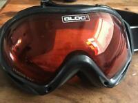 Bloc ski goggles