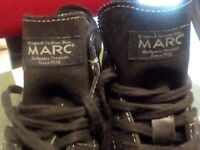 MARC COLLECTION boots, twice used, size 44 (10.5), leather.