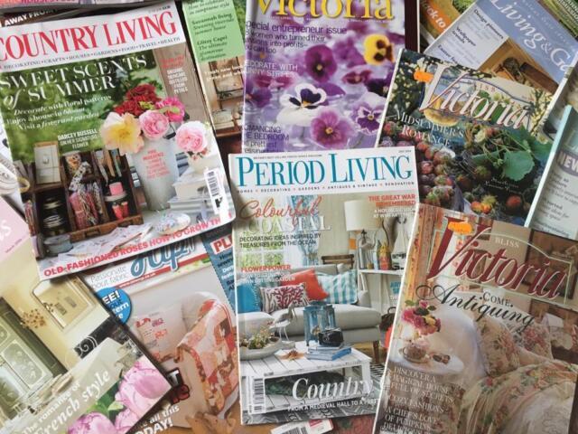 Job lot home decor interior garden design magazines in Shepton
