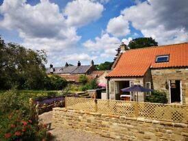 2 bed holiday cottage North Yorks Moors - Danby. Sleeps 4+1 in travel cot.