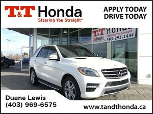 2014 Mercedes-Benz M-Class ML350 BlueTEC 4MATIC *No Accidents, N