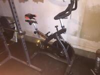 York exercise spin bike