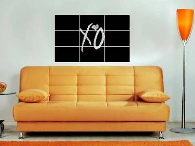 "MARIANAS TRENCH BORDERLESS MOSAIC TILE WALL POSTER 35/"" x 25/"" POP PUNK"