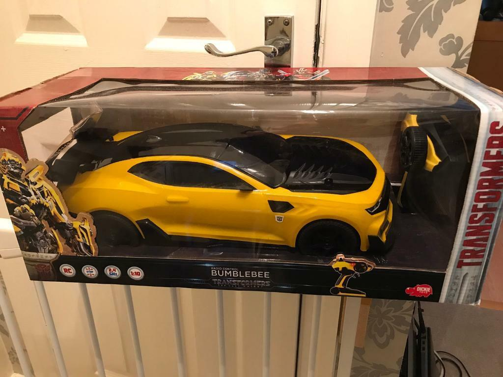 transformers bumblebee rc car in leyland lancashire. Black Bedroom Furniture Sets. Home Design Ideas