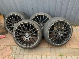 """19"""" Wheels and Tyres"""