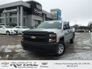 2015 Chevrolet Silverado 1500 DOUBLE CAB * 4X4 * ONE OWNER