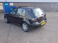 FOR SALE VOLKSWAGEN 2002 BLACK EXCELLENT CONDITION ONLY £499