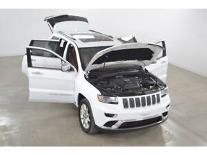 2016 Jeep Grand Cherokee Summit Ecodiesel 4x4 GPS*Cuir*Toit Ouvr