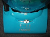 PET & PET inviting Turquoise Gloss, Hoover Vac(Heavy D) (Cyclonic) (Bagless) (Tools) A1 cond. £50.0