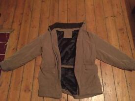 Men's coat, John Lewis quilted coat