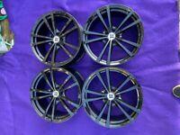 """5x100 Seat Skoda Audi Vw Subaru 18"""" 8j Refurbished Inovit Alloys"""