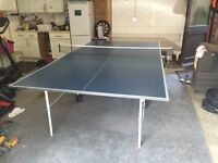 TABLE TENNIS TABLE - BUTTERFLY HOME ROLLAWAY