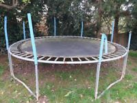 FREE 9ft outdoor trampoline - must be collected.