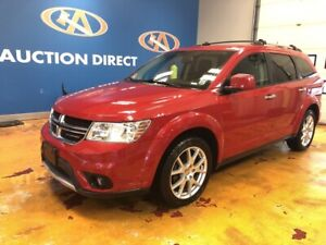2016 Dodge Journey R/T AWD/HEATED LEATHER/7 PASS