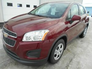 2015 CHEVROLET TRAX FWD LS CROSSOVER