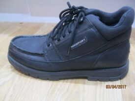 BLACK BOYS/MENS SHOES & TRAINERS USED