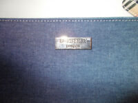 Burberry, denim small handbag