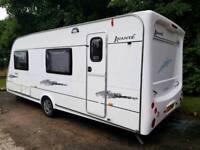 DEPOSIT TAKEN Elddis Avante 556 6 berth Touring caravan