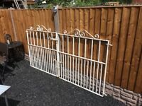 Set Of Wrought Iron Driveway Gates- can deliver