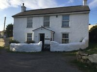 Rare Former Detached Mine Captain's residence within the Parish of St Agnes and nearby Truro / Red
