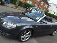 Audi A4 2006 Convertible for sale with low millage.