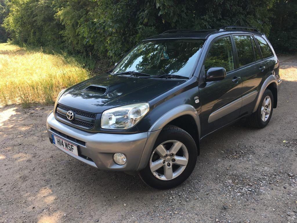 2003 toyota rav4 xte d4d diesel manual grey 5 door (private plate