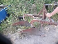 Ferguson 2 furrow plough