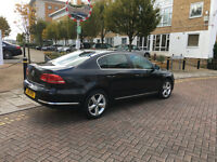 pco car 2011 vw passat se bluemotion tech1.6 tdi diesel, 94k f/s/h, black,12 mot, 1 owner, hpi clear