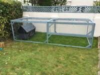 Large Hand Made Rabbit/Guinea Pig Run