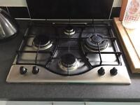 hotpoint 4 ringed gas hob