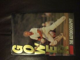 DAVID GOWER SIGNED BOOK
