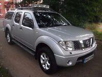 Nissan Navara 2.5 dCi Outlaw 4dr£6,499 12 MONTHS WARRANTY FREE INCLUD 2006 (06 reg), Pickup