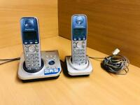 Panasonic Twin Digital Home Phones with Answering machine