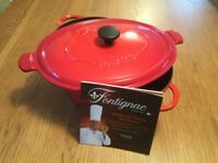 Made in France Cast iron oval 6L Casserole
