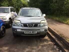 2004 Nissan X-Trail sport dci estate 2.2l diesel silver BREAKING FOR SPARES