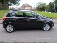 VAUXHALL CORSA 1.4 SE 5d AUTO 98 BHP (black) 2013