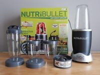 Nutribullet 12 piece set 600w blender - lightly used but as new in box