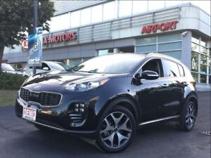 2017 Kia Sportage SX TURBO/NAV/LEATHER/HTD SEATS/AWD/BACK UP CAM