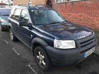 Land Rover. Freelander 2003. Mot. Tax. LEATHER