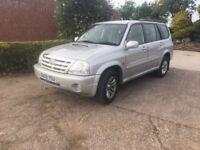 2005 susuki grand vitara 2.0TD 4x4 service history, new MOT, Low miles, New tyres, tow bar,