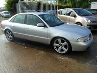 audi a4 1.8 petrol parts from a 1999.2000 car silver