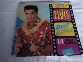 Elvis Presley record Blue Hawaii Orange Label good condition