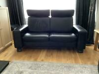 Sofa stressless 2 seater recliner (reduced price )