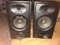FAULTY wharfedale valdus 200 100w hifi Speakers
