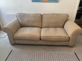 Sofa - Creme / Beige - DFS - 3 Seater