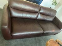 Free sofa must be collected this week