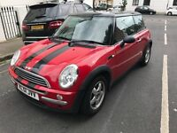 Mini One, 1.6L, 3 door hatch, petrol